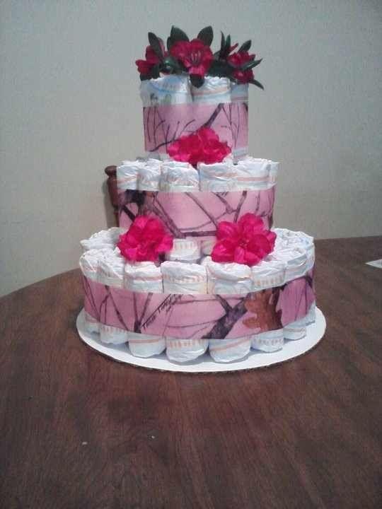 baby showers and more cakes camo cakes pink camo camo diaper cake