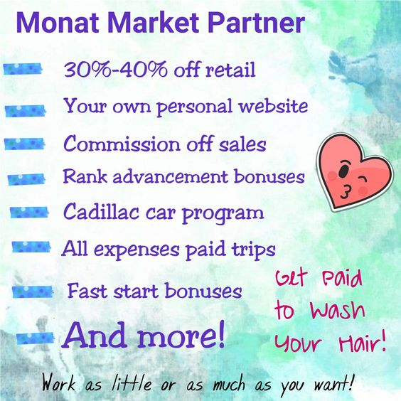 Monat Market Partner Benefits!! Darcithompson.mymonat.com
