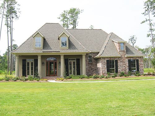 Acadian style homes louisiana and shingle colors on pinterest for Louisiana acadian house plans