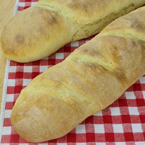 No Knead French Bread No Knead Baguette Recipe Bread
