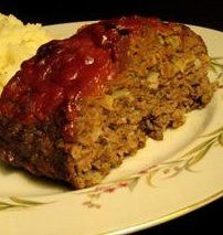 """Pressure Cooker Meatloaf-This is a copy out of Bob Warden's cookbook """"Great Food Fast"""". It is a little more tomatoey than we like but it makes a great leftover meatloaf sandwich."""