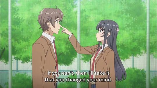 Rascal Does Not Dream Of Bunny Girl Senpai English Subbed On 7anime Net Bunny Girl Senpai Mai Sakurajima