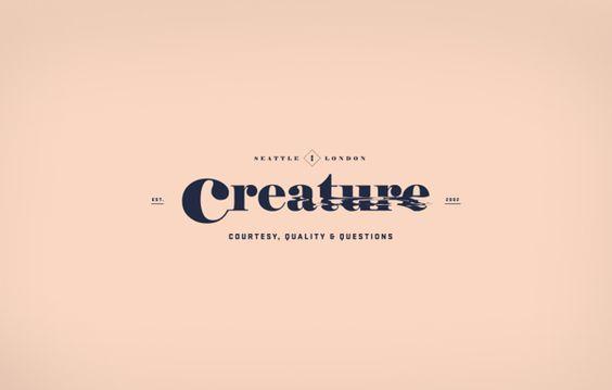 Creature Identity by Clara Mulligan, via Behance