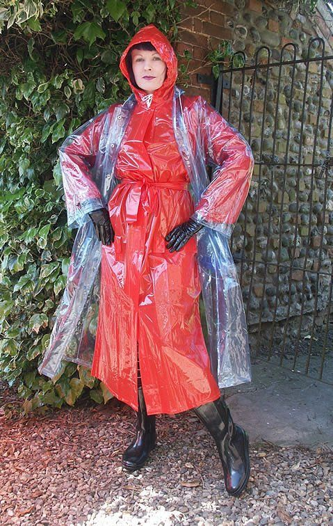 pvc rainwear plastic fetish vinyl raincoat eBay