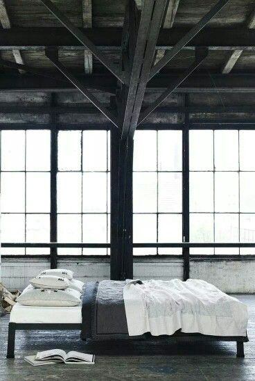 interior design warehouse - Loft style, Industrial and Interior modern on Pinterest