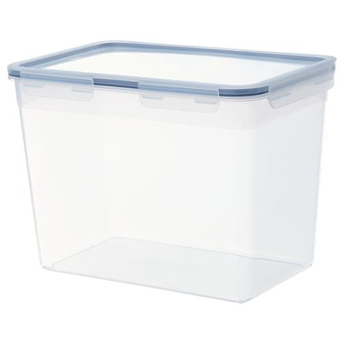 Ikea 365 Dry Food Jar With Lid Clear White Length 7 Width 3 Volume 2 Qt Find It Here Ikea Ikea 365 Food Containers Ikea
