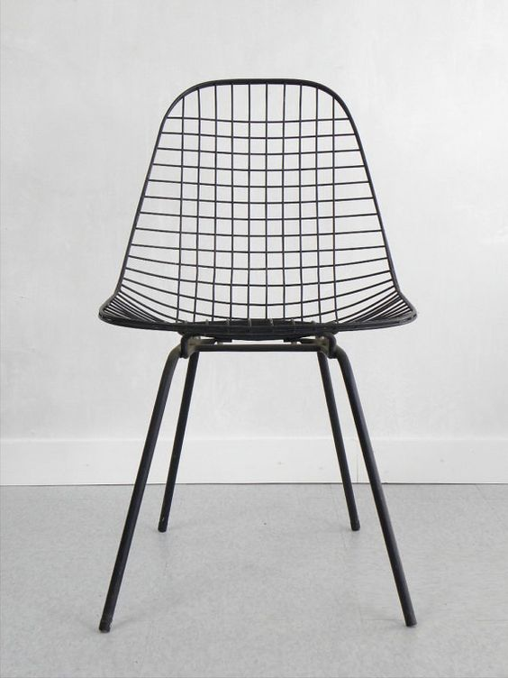 eames wire chair h base reserved 1950 39 s eames dkx wire side chair