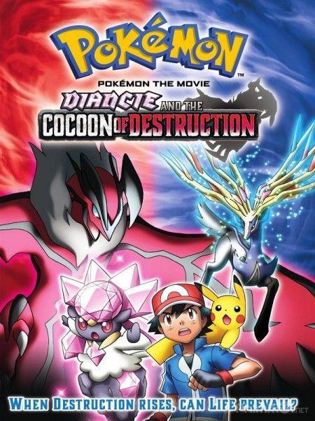 Phim Pokemon Movie 17: Sự Hủy Diệt Từ Chiếc Kén Và Diancie