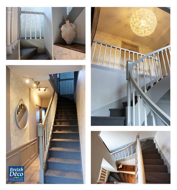 Papier peint cage escalier conceptions architecturales - Papier peint pour cage escalier ...