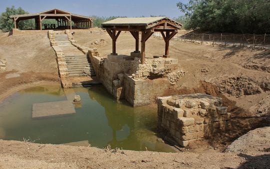 Jesus' Baptism Site, Jordan River, Jordan: