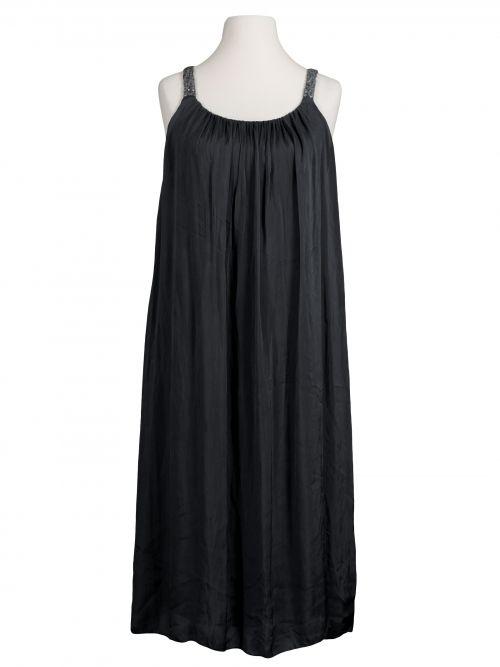 Damen Trägerkleid mit Seide, schwarz von Diana bei www.meinkleidchen.de