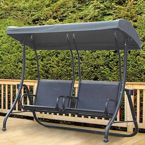 Two Person Sling Swing Lawn Swing Patio Furniture Patio Swing