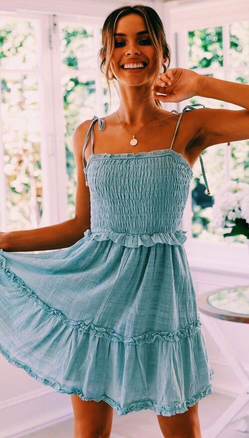 casual summer casual cute simple dresses