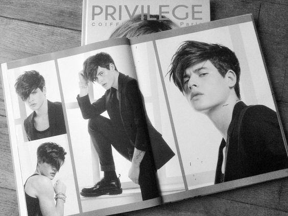Catalogue PRIVILEGE COIFFURE - Model@Raphael Say | COMERCIAL ...