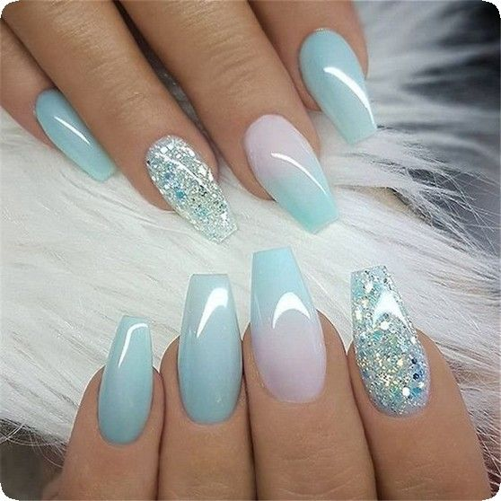 20 Best Coffin Nails Ideas That Suit Everyone 2019 Winter Nails Acrylic Coffin Nails Designs Trendy Nails