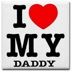 #Artsmith Inc             #Tableware                #Tile #Coaster #(Set #Love #Daddy #Father #Heart    Tile Coaster (Set 4) I Love My Daddy - Dad Father Heart                                                 http://www.snaproduct.com/product.aspx?PID=7712149