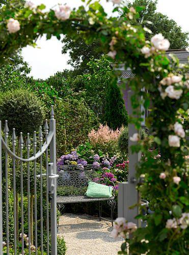 Tuintrends 2010: romantische tuinen met rozen - romantische tuin als tuintrend 2010