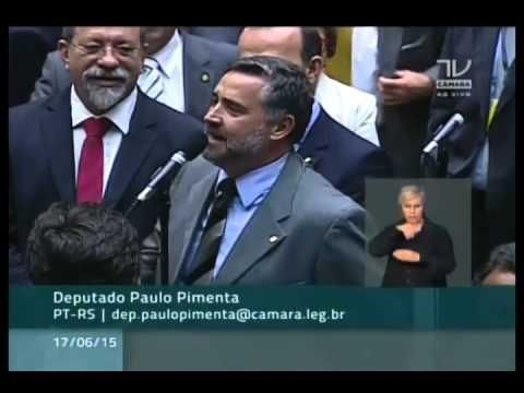 Dep. Paulo Pimenta (PT-RS) rebate declaração  do Dep. Fernando Francisch...