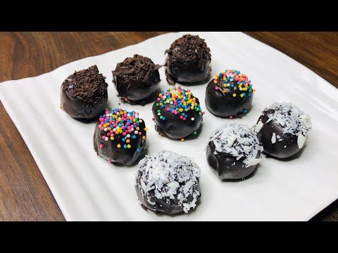 No Bake Oreo Balls Recipe Easy Oreo Chocolate Recipe Chocolate Recipe Chocolate Oreo In 2020 Oreo Balls Recipe Chocolate Recipes Cookies Recipes Chocolate Chip