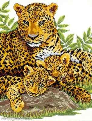 Design Works Counted Cross Stitch kit - Leopard Family Design Works http://www.amazon.com/dp/B00A814HSM/ref=cm_sw_r_pi_dp_K3Z7tb17WT13R