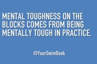 Mental Toughness on the Blocks