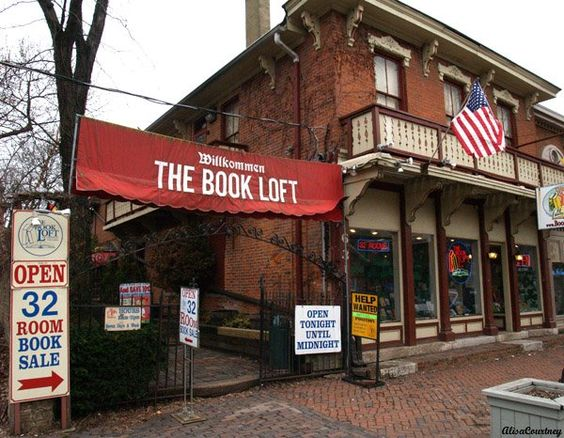The Book Loft in the German Village area of Columbus, Ohio