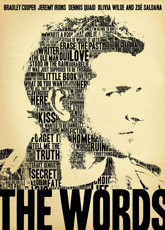 """Os melhores pôsteres de 2012: """"The Words""""."""