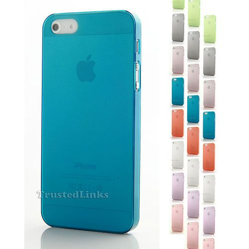 Ultra Thin 0 4mm Matte Cover Case for Apple iPhone 5 5g 6th Green | eBay