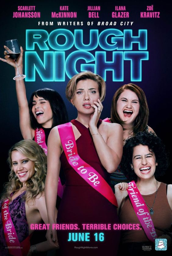 Rough Night (2017) BluRay