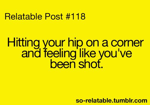 This happens to me about twice a day lol