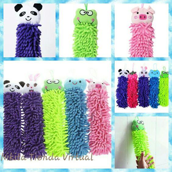 Divertidas toallas decorativas.  Disponibles en forma de tigre, panda y ranita.  .  #ventasVenezuela #ventas #TiendaNikita #original #cute #nuevos #baño #niños #decorativo #toallas #domingo