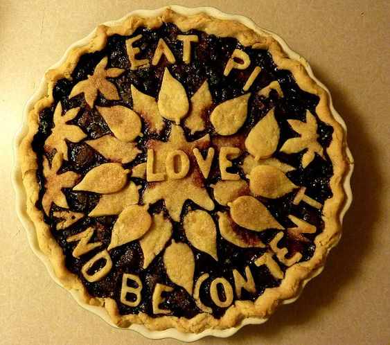 eat pie and be content....
