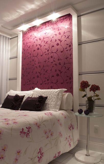 Sem Gloss: Decoração: Papel de parede e adesivos... different color but I like the concept: