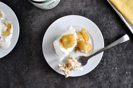 Banana Bread Tres Leches Cake with Caramelized Bananas | How Sweet It Is...