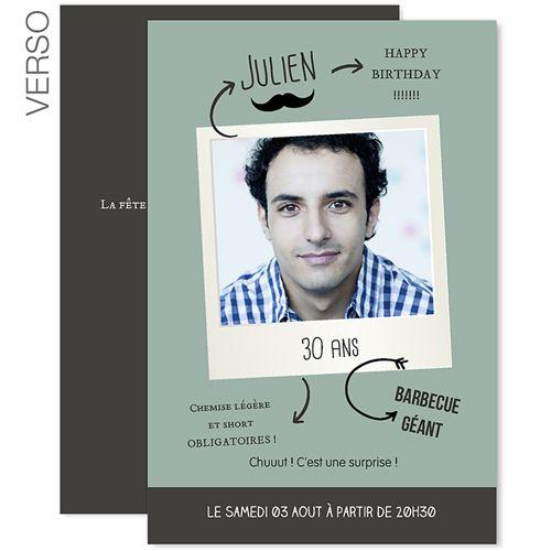 Populaire cartes invitation anniversaire à imprimer gratuites | A imprimer  IL06