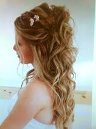Ausgezeichnet Cool Locken Frisur Halb Hochgesteckt Mit Bildern Frisuren Hochzeitsfrisuren Brautfrisuren Lange Haare