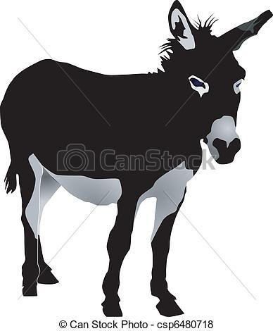 Donkey Vector Clip Art EPS Images. 2,787 Donkey clipart vector ...