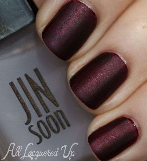 JINsoon Tibi Nail Polish Collection for Fall 2013 – Swatches - this one is JINsoon Jasper with Matte top coat.  GORGEOUS