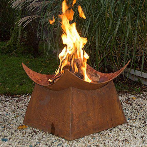 Esschert Design Wood Burning Fire Bowl With Images Wood Fire Pit Wood Burning Fires Wood Burning Fire Pit