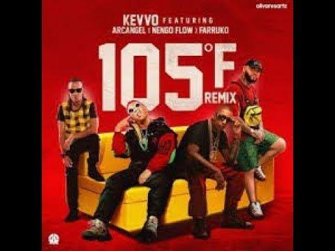 105f Remix Letra Kevvo Ft Farruko Myke Towers Arcangel Darell