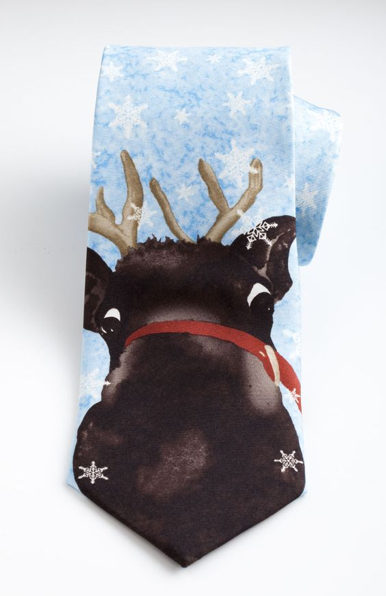 Reindeer Tie - The Museum Shop of The Art Institute of Chicago