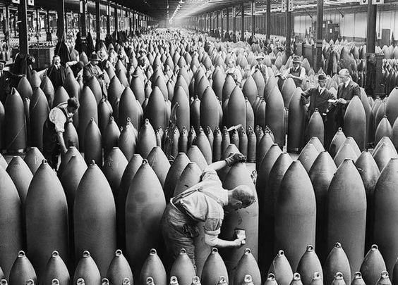 Bomb Factory, 1917