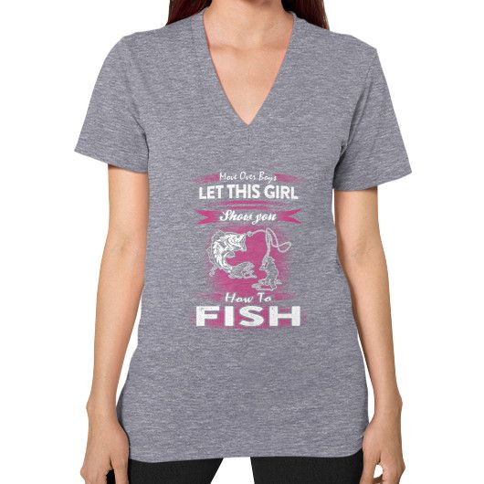 HOW TO Fish V-Neck (on woman)