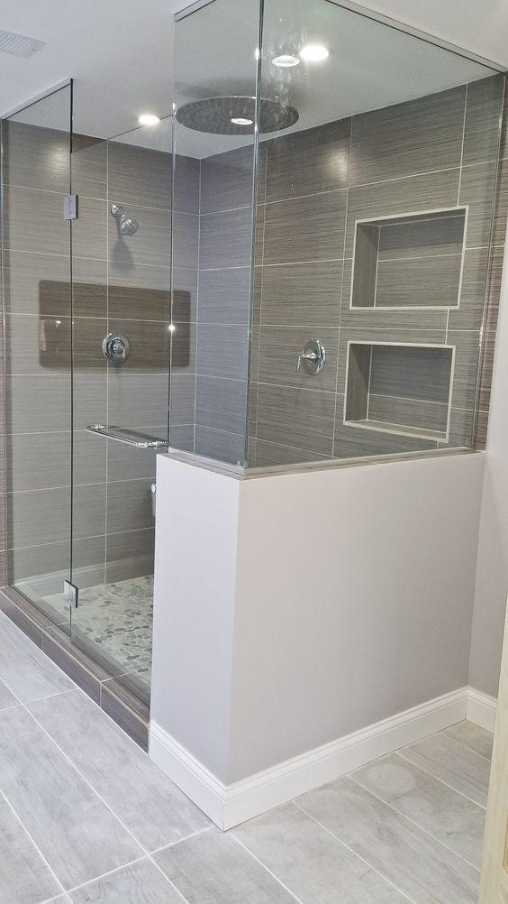 Badkamer Glazen Douchewand.Moderne Badkamer Met Glazen Douchewand Badkamer Modern