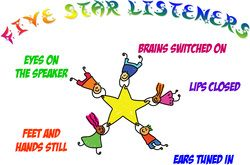 Great reminders for primary listening skills