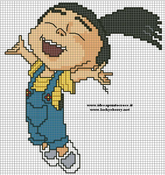Despicable Me Agnes pattern by syra1974 on deviantART
