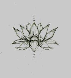 40 coole fu tattoo vorlagen lotus t towierungen mandalas und blume. Black Bedroom Furniture Sets. Home Design Ideas
