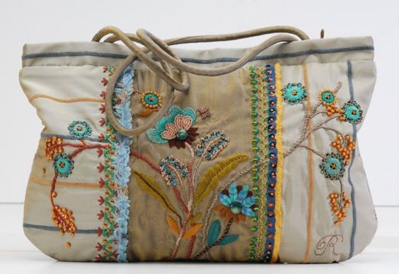 The Cherry Blossom Bag I by atelierrococo on Etsy, $1000.00
