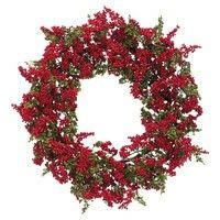 Faux mini berry wreath @Joss&Main.com