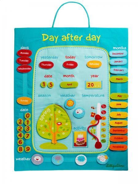 Children S Calendar Wall Chart : Luxury childrens day by fabric wall calendar chart